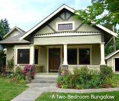 two bedroom homes a craftsman bungalow in oregon