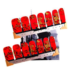 m theory nails wraps stickers 31 style fantasy summer 3d nails
