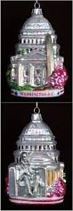check out this washington dc christmas ornaments from