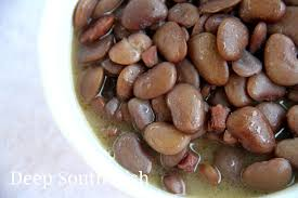 deep south dish southern style speckled butter beans