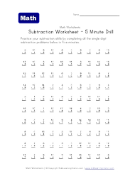 subtraction subtraction worksheets with counters free math