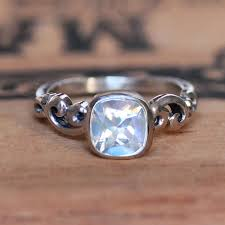 moonstone engagement rings rainbow moonstone engagement ring moonstone ring sterling