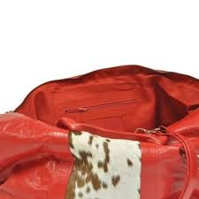 Cowhide Overnight Bag Cowhide Overnight Holdall