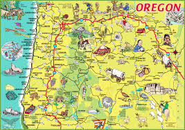 oregon state maps usa maps of oregon or
