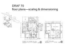 dimensioned floor plan draf 70 floor plans scaling dimensioning ppt download