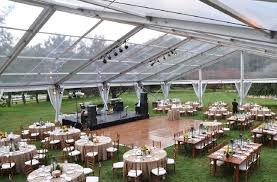 clear wedding tent weddings eventquip tents floors power and climate