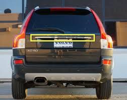 2003 xc90 30716229 upgrade to chrome trim molding on tailgate xc90 2003 2014