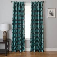 Charcoal Drapes Dark Turquoise Curtains Living Room Area Condointeriordesign Com