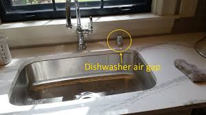 Air In Kitchen Faucet Kitchen Faucet Air Gap Picture Kitchen Sink Brass Faucet Parts