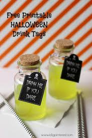 drink me if you dare free printable halloween tags i dig pinterest