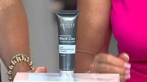 Dr Denese Skin Care Reviews Dr Denese Black Clay Firming Mask With Sandra Bennett