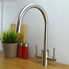 Solid Brass Kitchen Taps by 16 Best Our Brushed Steel Kitchen Taps Images On Pinterest 5 Bar