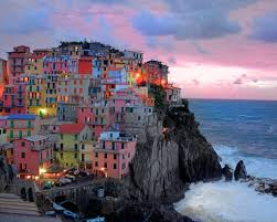 beaches nature italy cinque beach terre beautiful sea houses