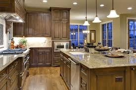Dark Cabinet Kitchen Designs by Kitchen Cabinets Dark Wood Base Outofhome