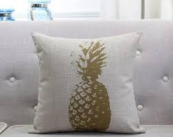 pineapple throw etsy
