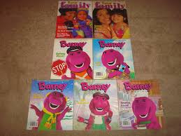 similiar barney pajama party dvd keywords barney magazines 1998