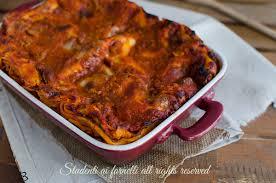 cuisine lasagne facile lasagna classica al ragu facilissima ricetta
