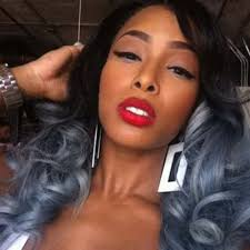 african american silver hair styles black woman with gray ombre google zoeken hairstyles
