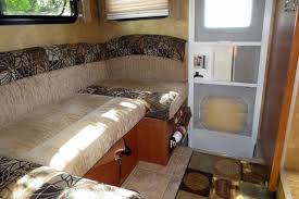 Rv Dinette Booth Bed Making Truck Camper Seating More Comfortable