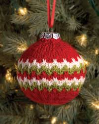 diy knit ornament free pattern