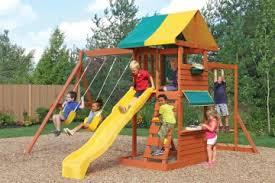 Backyard Play Equipment Australia Climbing Frames Australia Wooden Climbing Frames With Swings U0026 Slides