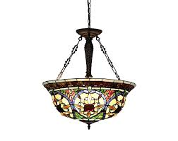 Ceiling Fans With Tiffany Style Lights Chloe Lighting Ch33391vg22 Uh3 Tiffany Style Victorian 3 Light