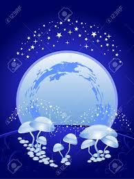 magic halloween background background blue the beautiful night scenery the sky full moon