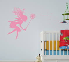 amazon com fairy dandelion wand wall decal nursery kids room tale amazon com fairy dandelion wand wall decal nursery kids room tale sticker 1146 white home kitchen