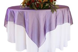 eggplant colored table linens eggplant organza table overlays wholesale