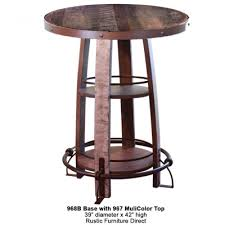 rustic pub table and chairs impressive rustic bistro table and chairs with sunset trading 7