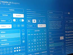 mobile ui blueprint freebie by lorenzo buosi dribbble