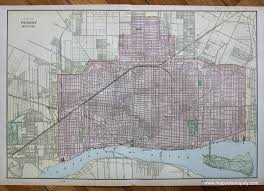 Grand Rapids Michigan Map by City Of Detroit Michigan Verso Grand Rapids And Map Of Bay