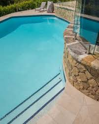 domestic pool in bilgola nsw painted with luxapool epoxy pool