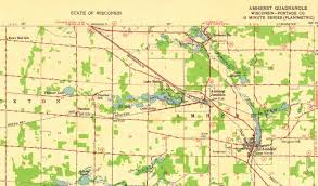Wisconsin Road Map by Looking For Information About A Wisconsin Ghost Town Ghosttown