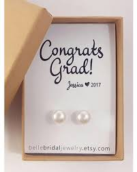 college graduation gift for great deal on graduation gift for pearl earrings college