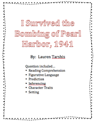 i survived the bombing of pearl harbor 1941 book questions