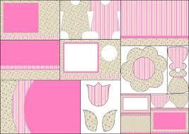 shabby chic in pink and yellow free printables invitations oh
