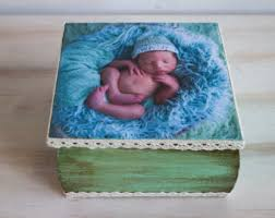 Customized Keepsake Box Baby Keepsake Box