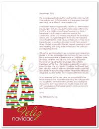 guide to finding a free christmas letter template intended for