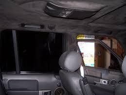 Auto Upholstery Utah Custom Range Rover Headliner After Before Auto Upholstery By
