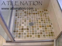 shower pan denver repair installation replacement shower floor