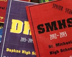 books for graduates high school senior memory book etsy
