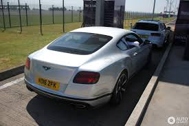 bentley continental 2016 black bentley continental gt v8 s black edition 2016 20 birþelio 2017