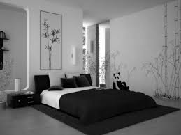 black and white bedroom ideas for small rooms wooden slats ceiling