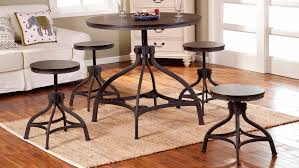 iron and espresso dining group by furniture world u2013 price match
