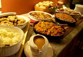 a thanksgiving buffet serve the family meal the easy way redgage