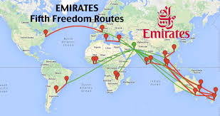 Air France Route Map by Top 16 Longest Emirates Fifth Freedom Routes Coming To A City