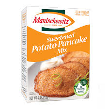 potato pancake mix manischewitz sweetened potato pancake mix