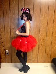 minnie mouse halloween costume diy