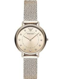 armani watches bracelet images Emporio armani ladies kappa gold plated mesh bracelet watch jpg